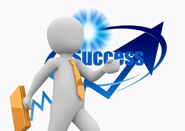 Bringe dein Unternehmen auf Erfolgskurs, erfolgreich